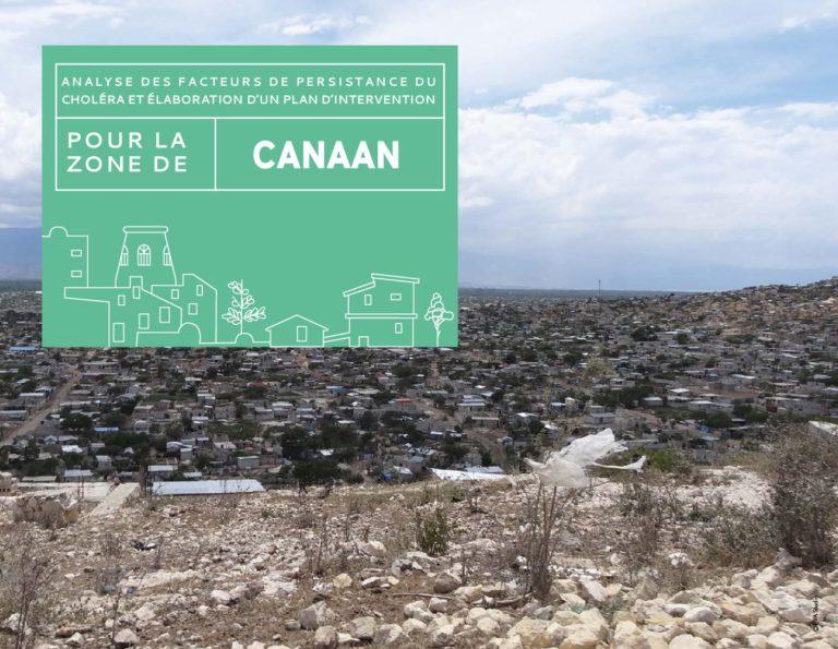 Analyse des facteurs de persistance du choléra et élaboration d'un plan d'intervention Canaan