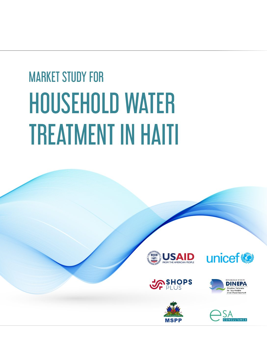 Market study for household water treatment in Haïti
