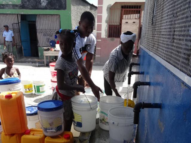 Analyse de la qualité des kiosques d'eau